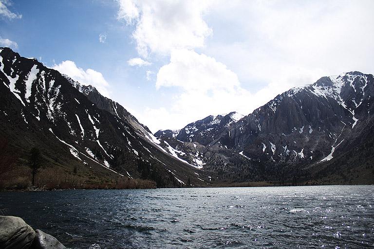 Convict Lake; 3. Mai 2009